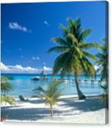 Rangiroa Atoll, Kia Ora Canvas Print