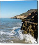 Point Loma Tide Pools Area Canvas Print