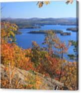 Rattlesnake Cliffs Squam Lake Canvas Print