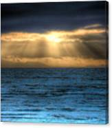 Rays Of Light 2 Canvas Print