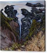 Receding Tide Canvas Print