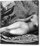 Reclining Nude, C1885 Canvas Print