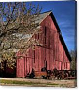 Red Barn Canvas Print