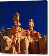 Red Canyon Hoodoos Canvas Print