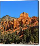 Red Canyon  Canvas Print
