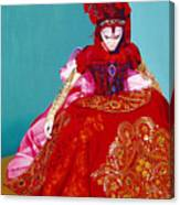Red Dress Canvas Print