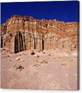 Red Rock Canyon Mojave Desert Canvas Print