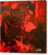 Red Series No. 2 Canvas Print