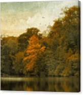 Reflecting October Canvas Print