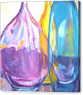 Reflections In Glass Canvas Print