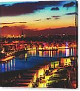Reflections Of Dortmund Canvas Print