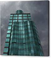 Reflective High Rise Building Canvas Print