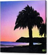 Refugio Point 1 Canvas Print