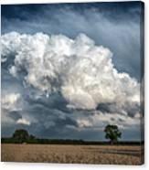 Remnants Of A Storm Canvas Print