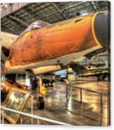 Republic F-105, Thunderchief Canvas Print