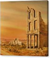 Rhyolite Nevada Canvas Print