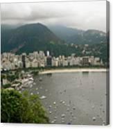 Rio De Janeiro Vi Canvas Print