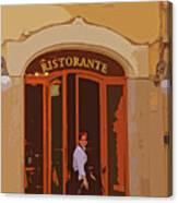 Ristorante Canvas Print