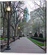Rittenhouse Square In The Morning Canvas Print
