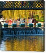 River Cam Canvas Print