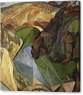 Rivera 10 Diego Rivera Canvas Print