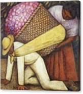 Rivera 43 Diego Rivera Canvas Print