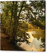 Riverside Reflections Canvas Print