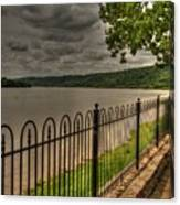 Riverside Walk Canvas Print