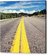 Road Canvas Print