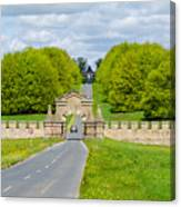 Road To Burghley House Canvas Print
