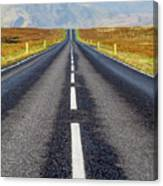 Road To Nowhere. Canvas Print