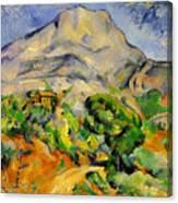 Road To The Montagne Sainte-victoire Canvas Print