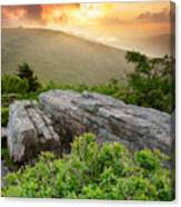 Roan Highlands - Flames And Flares  Canvas Print