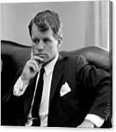 Robert Kennedy Photo Canvas Print
