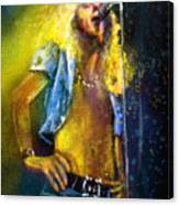 Robert Plant 01 Canvas Print
