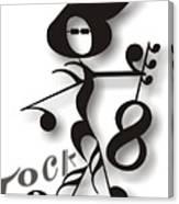 Rock 'n Roll Canvas Print