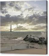 Rocking The Atlantic Canvas Print