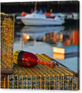 Rockport Ma Lobster Traps Canvas Print