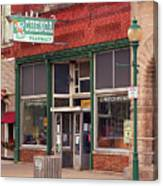 Route 66 - Chenoa Pharmacy Canvas Print