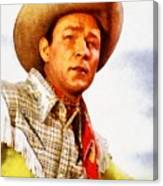 Roy Rogers, Vintage Western Legend Canvas Print