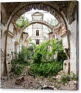 Ruins Of The Church Of St Wenceslas Canvas Print