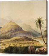 Rural Indian Landscape Canvas Print