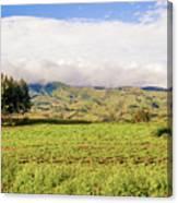 Rural Landscape Tanzania Canvas Print