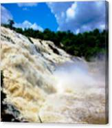 Rush Of Water I Canvas Print