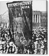Russia: Revolution Of 1917 Canvas Print