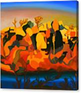 Rustler's Roost Canvas Print