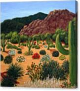Saguaro Desert Canvas Print