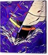 Sail Canvas Print