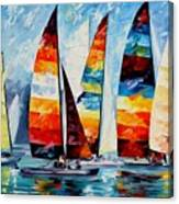 Sail Regatta Canvas Print