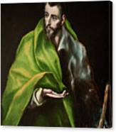 Saint James The Greater Canvas Print